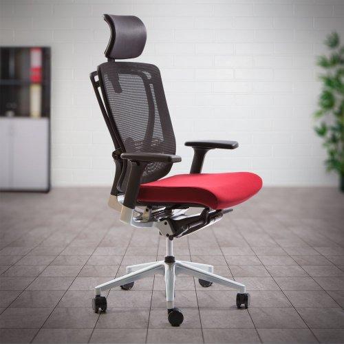 Työtuoli Ergonea Mesh on hyvä verkkoselkäinen ergonominen toimistotuoli jolla edullinen tarjous hinta kotiin, verkkoselkä työtuolit punainen  ja musta sekä toimistotuolit paras ergonomia ja hyvä paras työtuoli kotiin musta punainen työtuoleja toimistoon