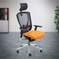 Työtuoli Full Mesh musta verkkotuoli ergonominen ja varusteltu, tyylikäs työtuoli tarjous